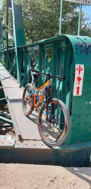 bicicleta enduro giant reign 27,5 talla S