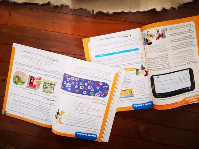 libros texto 4 de primaria