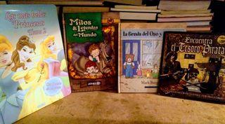 lote de libros niños