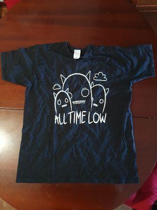 Camiseta All Time Low unisex talla M merch