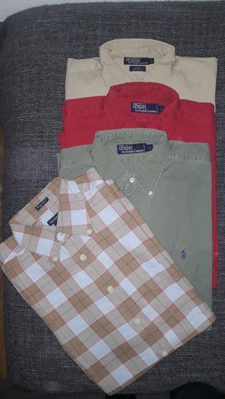 Camisas Ralph Lauren y Gant