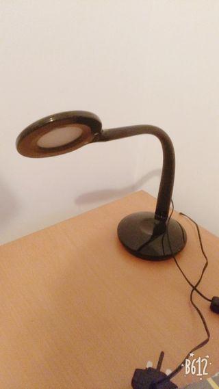 Black led lamp.