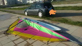 Tabla o equipo de windsurf