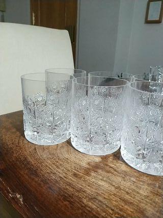 Vasos de Whisky cristal de Bohemia