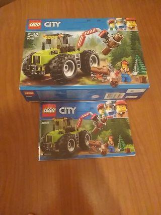 Caja y instrucciones de LEGO, vacia.