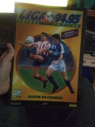 Copia del álbum de cromos de La Liga del 94-95