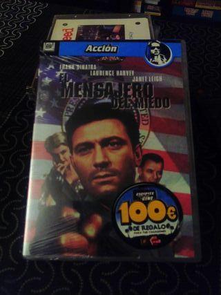 El mensajero del miedo. DVD nuevo.