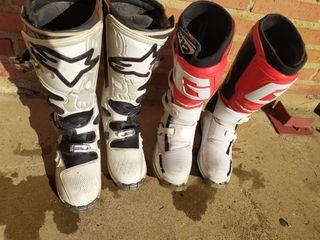 botas de motocross alpinestar y gaerne