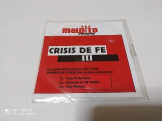 CD heavy metal nacional crisis de fe