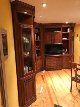 Mueble esquinero de salón