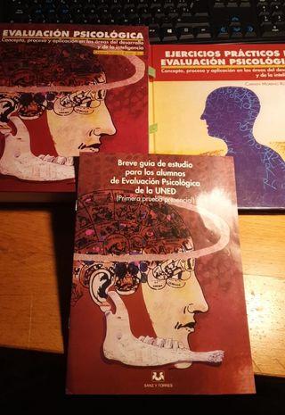 Libros de evaluación psicologica UNED