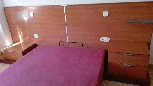 Dormitorio de matrimonio moderno