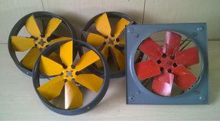 Extractores de aire industrial