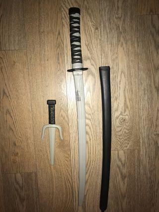 Catana y cuchillas plástico