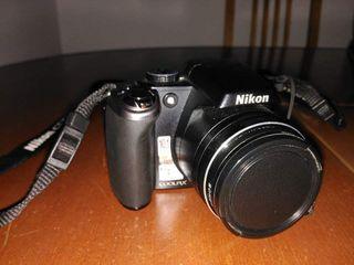 Cámara Nikon + bolsa + 2 baterías + 3 filtros