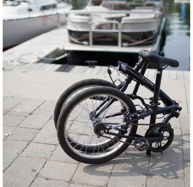Bici Plegable Tilt 100 Negra Como Nueva!