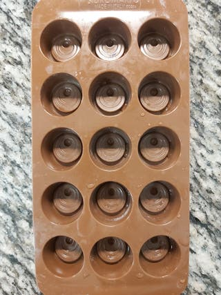 molde de silicona para bombones