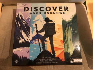 Discover, lands unknow. Juego de mesa de segunda mano por 32