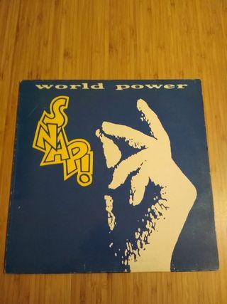 Snap LP World power vintage