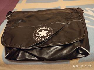 Bolsa Converse negra grande