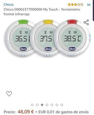 Termometro Chicco Infrarojo