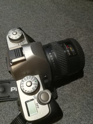 cámara reflex Pentax