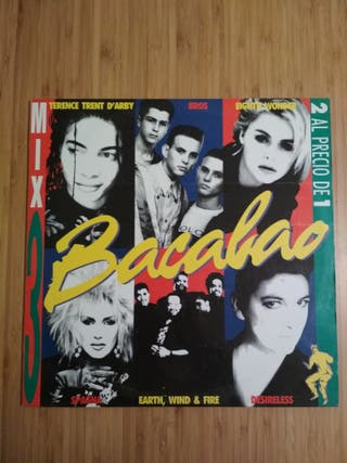 Bacalao 3 mix 2 LP euro beat,dance, rap vintage