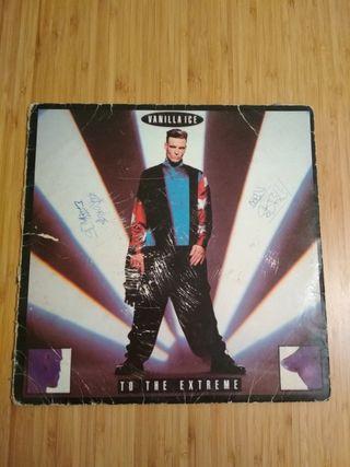 Vanilla ice LP to the extreme vintage