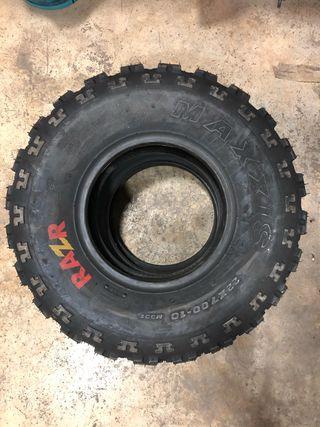 Ruedas neumáticos quad maxxis 22x7x10
