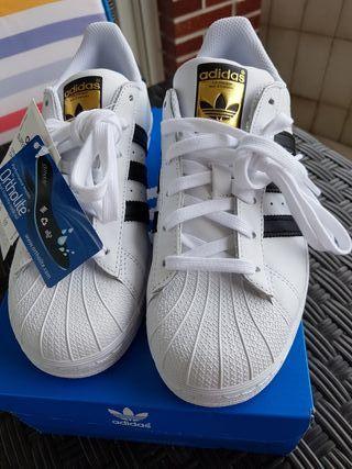 adidas nina zapatillas blanca suela gorda