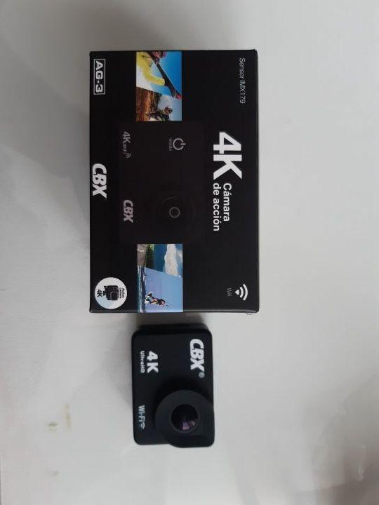 Camara deportiva CBX 4K.