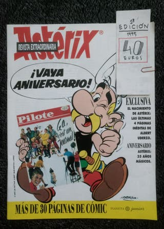 Revista especial Astérix