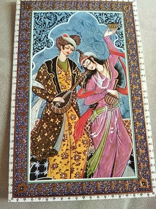 postales arte turca