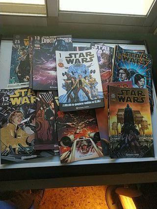 comics Star Wars 1 a 25