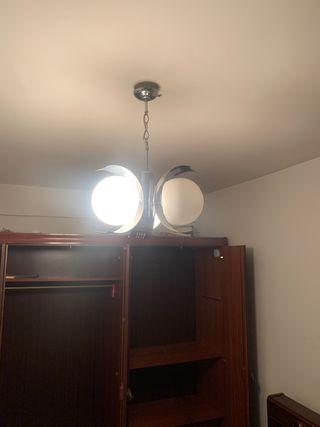 Lámpara vintage años 70 tres globos