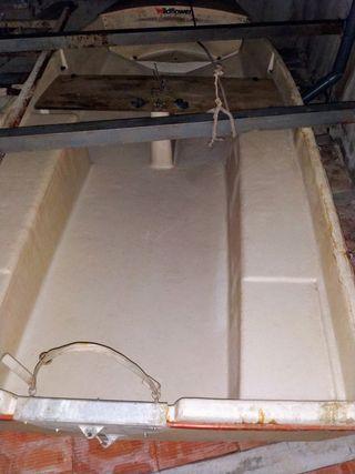 Barca rígida de fibra de vidrio