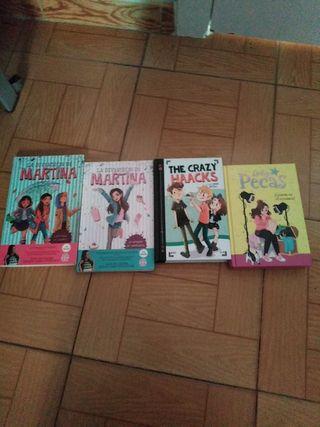 15 EUR pack de libros para niños