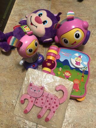 Lote 5 juguetes infantil