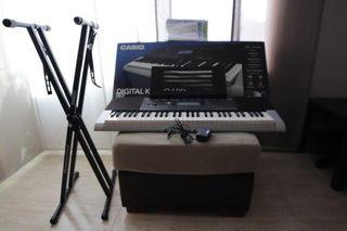 Teclado digital CASIO CTK 4400