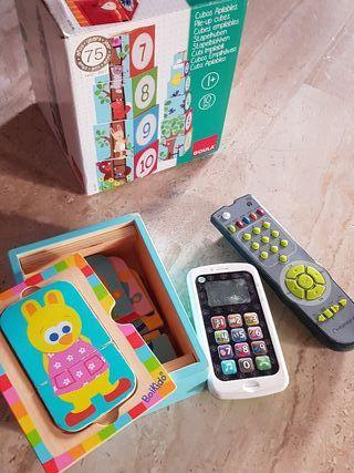 juguetes pack goula bebé
