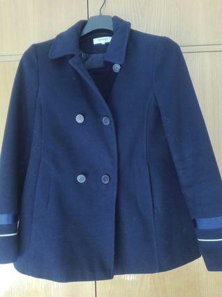 chaquetón azul marino
