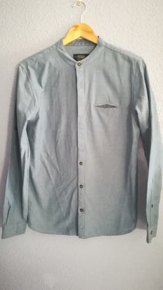 Camisa de hombre manga larga