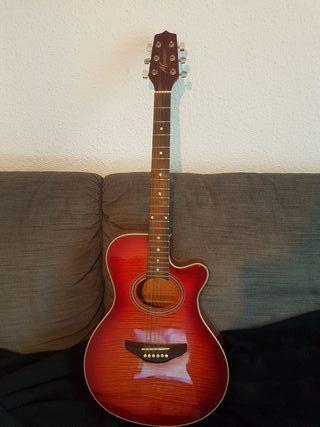 guitarra electroacústica montana