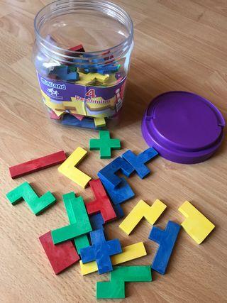 Juego piezas plástico