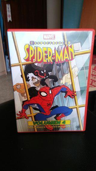 spiderman pelicula de dibijitos en dvd