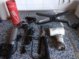 6 secadores y planchas pelo