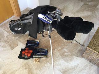 Set palos de golf