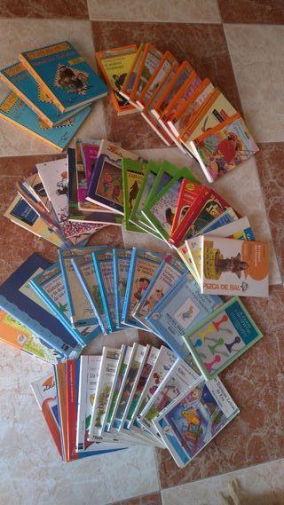 Libros infantiles y juveniles (preguntar títulos)