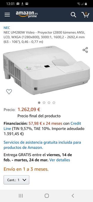 proyector NEC UM280W