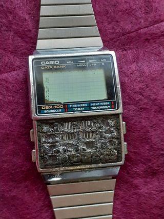 reloj Casio antiguo DBX 100